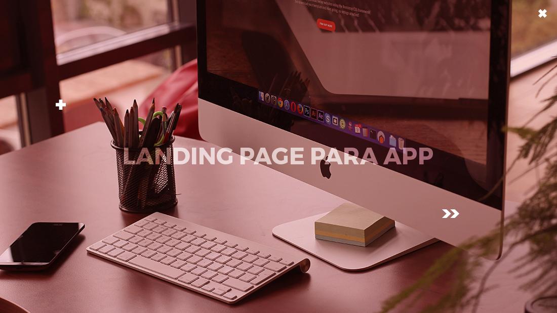 landing page app