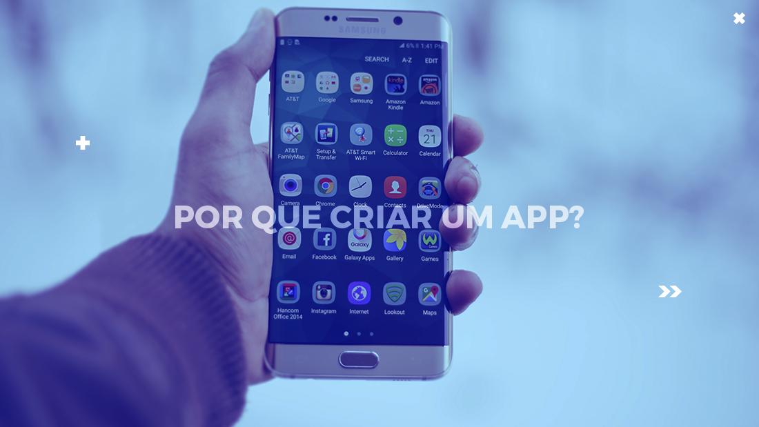 criar um app