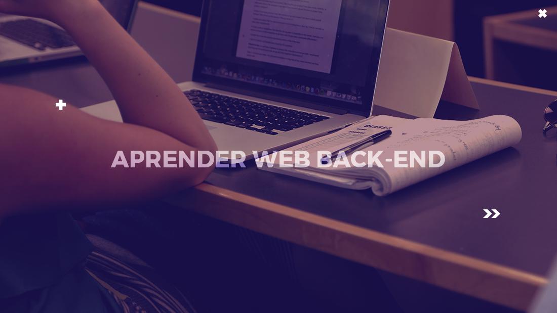 web backend