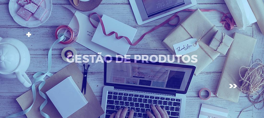 gestão de produtos