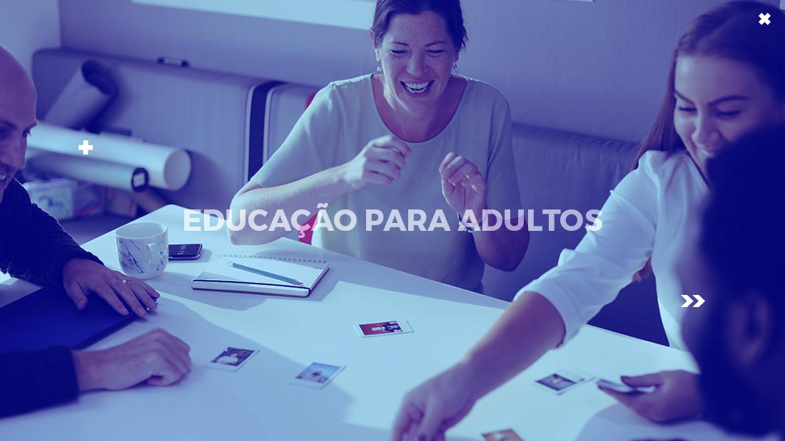 educação para adultos