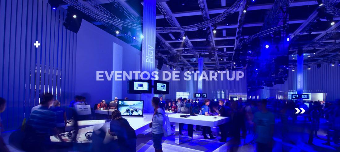 eventos de startup
