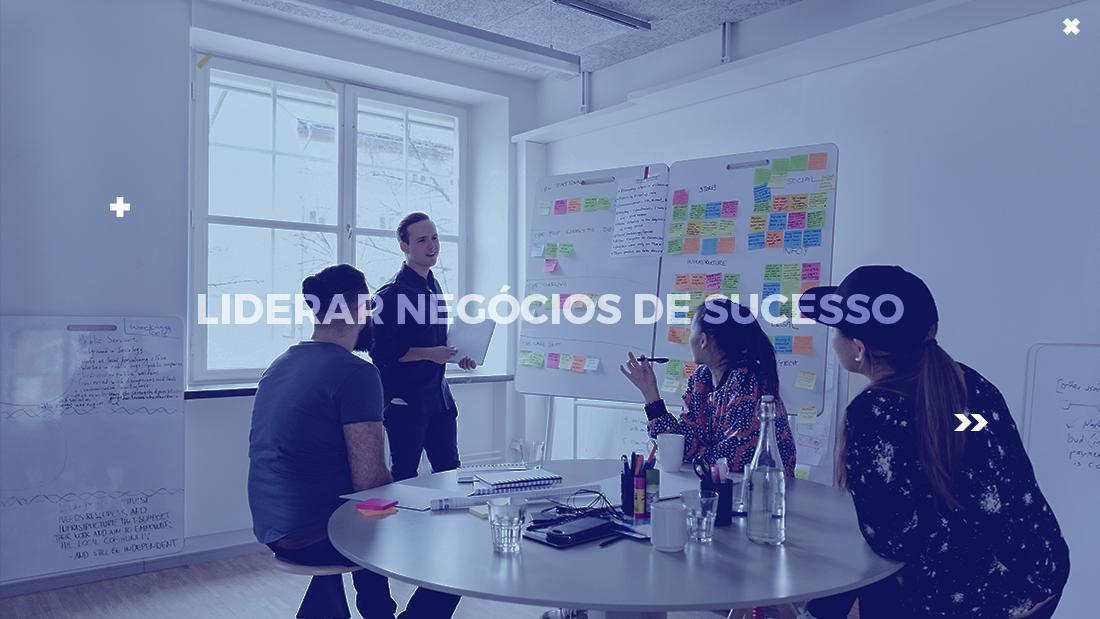 negócios de sucesso