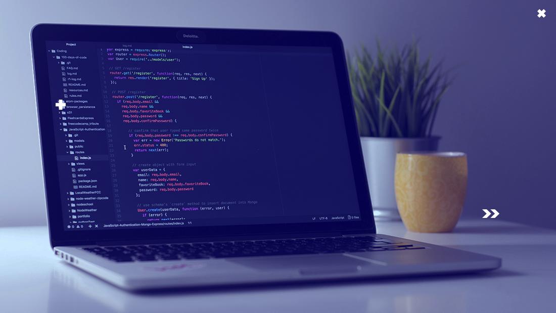 código de programação